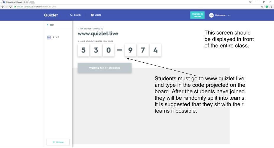 Unit 3: Exploring the Features of Quizlet - KNILT