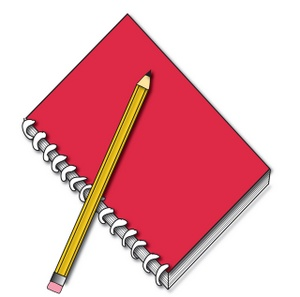 Journal and Pencil Clipart Quill.jpeg